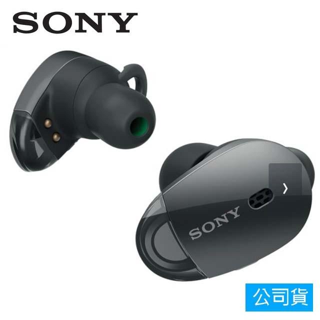 SONY索尼 真無線藍芽降噪入耳式耳機_公司貨 (WF-1000X) 黑色