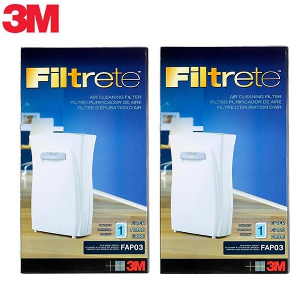 3M-空氣清淨機專用濾網_16坪適用 (超值2入)