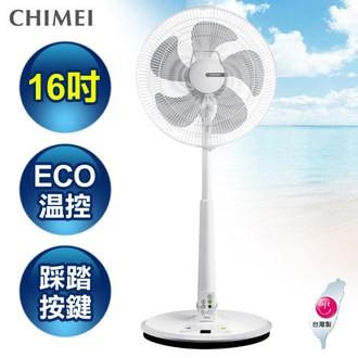 CHIMEI奇美 16吋DC馬達微電腦ECO立扇風扇-豪華款 DF-16B0ST