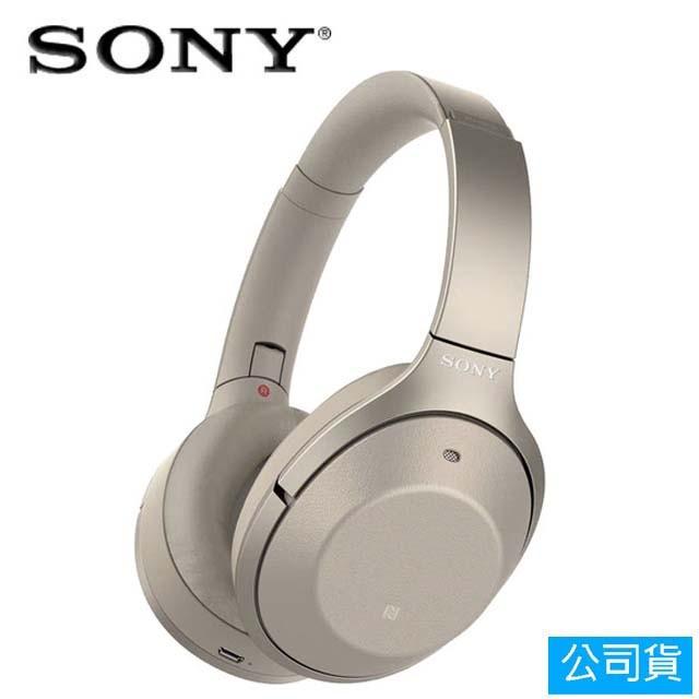 SONY索尼  藍牙降噪耳罩耳機 (WH-1000XM2) 金色