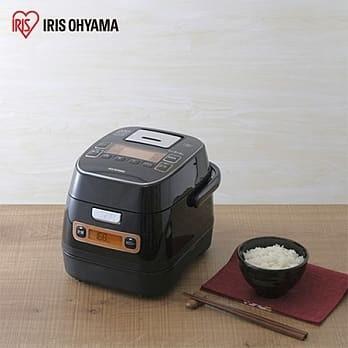 日本 IRIS Ohyama 極厚銅釜 IH分離式電子鍋 (極致黑)
