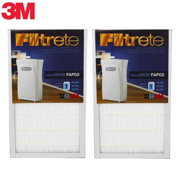 3M-空氣清淨機專用濾網_5坪/8坪專用濾網 (超值2入)