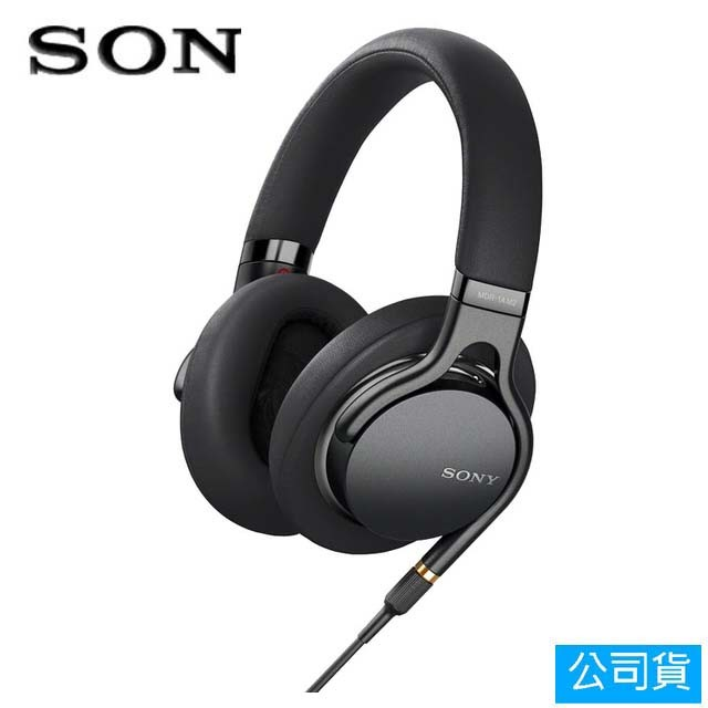 SONY索尼 高音質耳罩式耳機_黑色(MDR-1AM2)公司貨