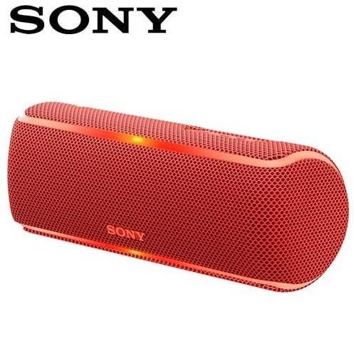 SONY索尼  防水無線藍芽派對喇叭_公司貨(SRS-XB21) 紅色