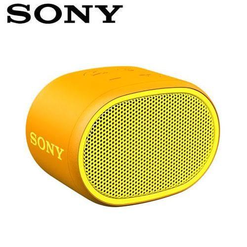 SONY 輕巧防水藍芽喇叭_公司貨 (SRS-XB01) 黃色