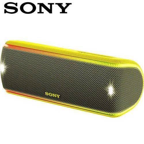 SONY索尼 超低音可攜式防水藍牙喇叭_公司貨 (SRS-XB31) 黃色