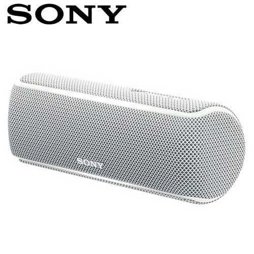 SONY索尼  防水無線藍芽派對喇叭_公司貨(SRS-XB21) 白色