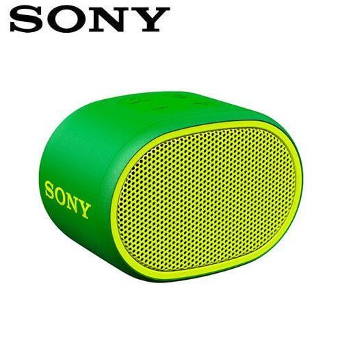 SONY 輕巧防水藍芽喇叭_公司貨 (SRS-XB01) 綠色