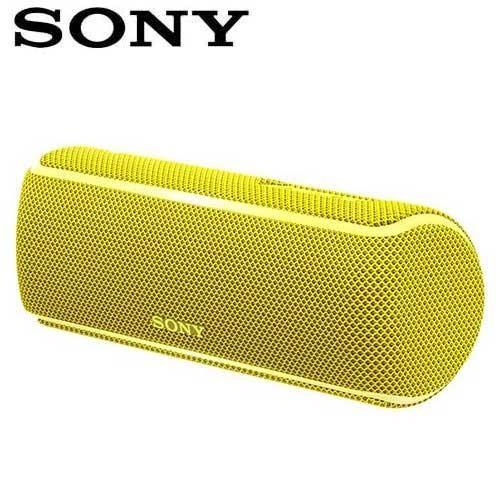 SONY索尼  防水無線藍芽派對喇叭_公司貨(SRS-XB21) 黃色