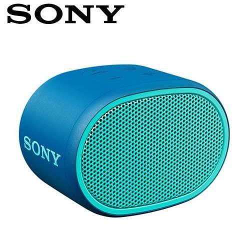 SONY 輕巧防水藍芽喇叭_公司貨 (SRS-XB01) 藍色