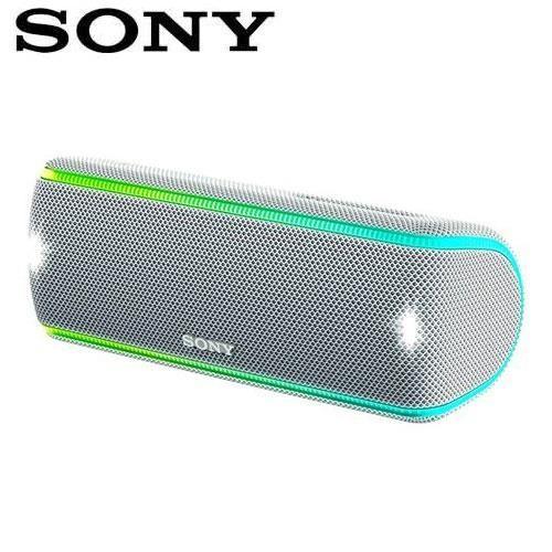 SONY索尼 超低音可攜式防水藍牙喇叭_公司貨 (SRS-XB31) 白色