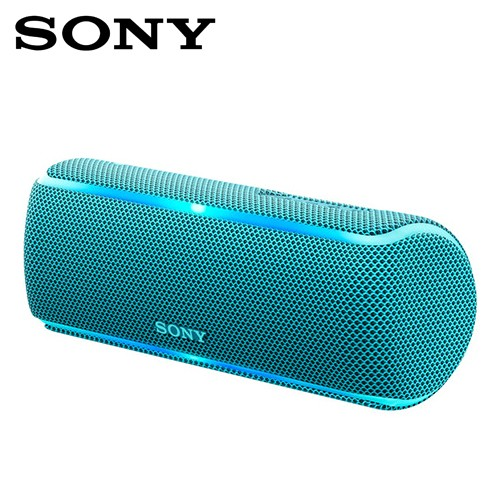 SONY索尼  防水無線藍芽派對喇叭_公司貨(SRS-XB21) 藍色