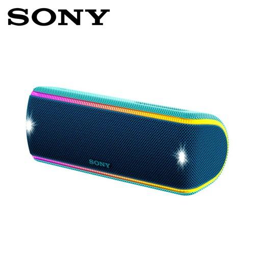 SONY索尼 超低音可攜式防水藍牙喇叭_公司貨 (SRS-XB31) 藍色