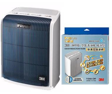 3M 淨呼吸空氣清淨機 (極淨型 6坪) FA-T10AB 加專用濾網 (除臭加強濾網) T10AB-ORF