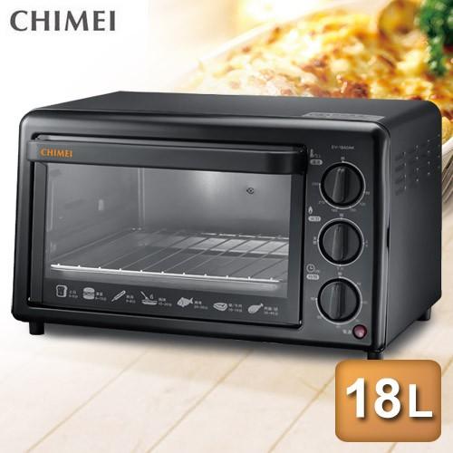 CHIMEI 奇美18公升機械式電烤箱 EV-18A0AK