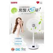 SAMPO聲寶 14吋微電腦遙控DC節能風扇(SK-FZ14DR)