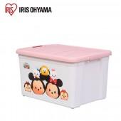 日本 IRIS Ohyama 迪士尼Tsum Tsum系列收納箱_粉色 (STB60)