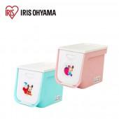 日本 IRIS Ohyama 迪士尼系列上掀式收納箱 (藍) FLP-S