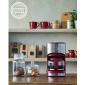 recolte日本麗克特 Home Coffee Stand 經典咖啡機 RHCS-1 (紅)