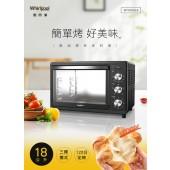 Whirlpool 惠而浦 18公升不鏽鋼機械式烤箱 WTOM181B