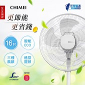 CHIMEI奇美 16吋微電腦ECO遙控擺頭DC節能風扇 (DF-16D500)