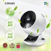 CHIMEI奇美 7吋DC易拆式觸控3D立體擺頭循環扇(DF-07A0CD)