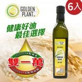 高登頂級高穀維素100%玄米胚芽油 (超值6入組)