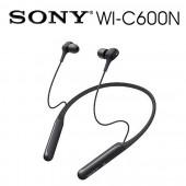 SONY索尼 磁吸式 藍牙無線 降噪入耳式耳機 續航力6.5 HR(WI-C600N) 黑色