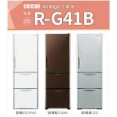 HITACHI 日立 電冰箱  三門琉璃 RG41B