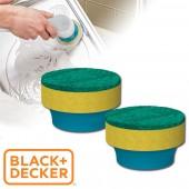 美國 BLACK+DECKER 刷洗好幫手 GOGO刷 配件:菜瓜布毛刷頭