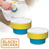 美國 BLACK+DECKER 刷洗好幫手 GOGO刷 配件:防刮海綿刷頭