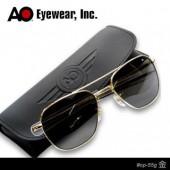 【USA美國】原廠公司貨 AO軍規飛官太陽眼鏡金框(55mm) OP55G.BA.TC