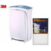 3M 超濾淨6坪進階版空氣清淨機(適用 3-7.5坪) + 專用濾網一片 (美安專屬特惠)
