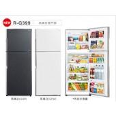 HITACHI 日立 琉璃二門電冰箱-直流變頻381L  RG399