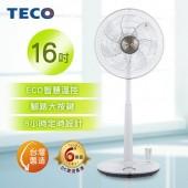 TECO XA1689BRD 16吋DC微電腦遙控立扇 DC扇 節能 電風扇