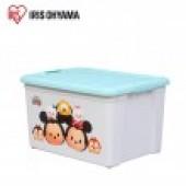 日本 IRIS Ohyama 迪士尼Tsum Tsum系列收納箱_藍色 (STB60)