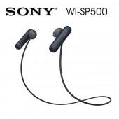 SONY索尼 無線藍牙 運動防水入耳式耳機 續航力8HR(WI-SP500) 黑色