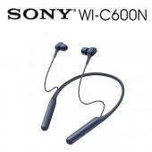 SONY索尼 磁吸式 藍牙無線 降噪入耳式耳機 續航力6.5 HR(WI-C600N) 藍色
