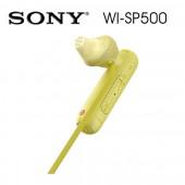 SONY索尼 無線藍牙 運動防水入耳式耳機 續航力8HR(WI-SP500) 黃色
