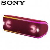 SONY索尼  防水無線藍芽派對喇叭_公司貨 (SRS-XB41) 紅色