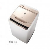 HITACHI 日立 11KG 自動槽洗淨洗衣風乾機 SFBW12W(N)香檳金