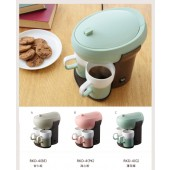 recolte日本麗克特 Paus 雙人咖啡機 PKD-4-BE (杏仁棕)