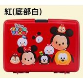 日本 IRIS Ohyama 迪士尼Tsum Tsum 系列手提收納箱 PG-320 紅 (限匯款免運)