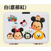 日本 IRIS Ohyama 迪士尼Tsum Tsum 系列手提收納箱 PG-320 白 (限匯款免運)