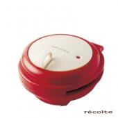 recolte日本麗克特 Smile Baker 微笑鬆餅機 甜心紅 RSM-1-R