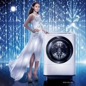 日立 HITACHI 12.5KG日本原裝溫水擺動式飛瀑左開洗脫烘滾筒洗衣機(BDNX125AJ)  白色