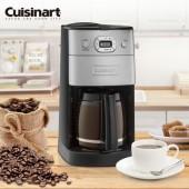 美國Cuisinart 12杯全自動研磨美式咖啡機 DGB-625BCTW