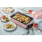 recolte日本麗克特 Home BBQ 電燒烤盤 櫻花粉 RBQ-1-W-TP