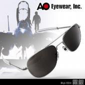 【USA美國】原廠公司貨 AO軍規飛官太陽眼鏡霧銀框(52mm) OP52M.BA.TC