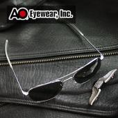 【USA美國】原廠公司貨 AO軍規飛官太陽眼鏡亮銀框(52mm) OP52S.BA.TC